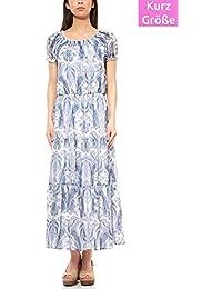 9cb9320db7d25b RICK CARDONA by heine Kleid Maxikleid Jerseykleid Freizeitkleid Kurzgröße  Weiß