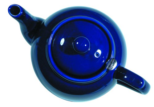 Dexam London Pottery 6 Cup Filter Teapot Cobalt Blue