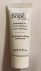 Philosophy Renewed Hope in a Jar Moisturizer - Sample Size 7ml /. 25 oz Sealed