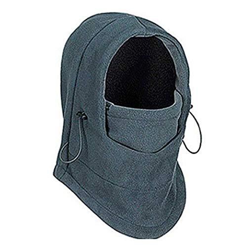 MCSZG Nuovo Stile Invernale in Pile Termico da Uomo da Donna Maschera da Sci Scaldacollo Cappuccio Cappelli Berretto Berretto da Neve Antivento da Equitazione Casual all'aperto
