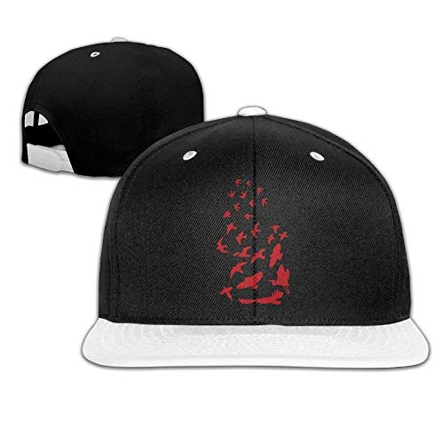 Flying Birds Tattoo Unisex Baseball Caps,Fashion Hip-Hop Caps for Running Walking -