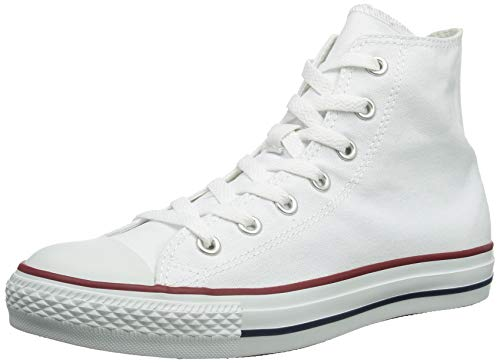Converse Unisex Chuck Taylor All Star High Top Sneakers Optical White (9.5 D(. - Signature High Top Schuhe