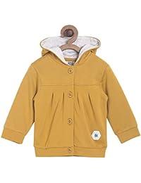 Mini Klub Baby Girl's Mustard Sweatshirt