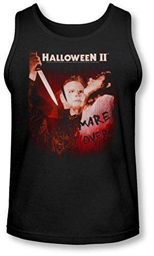 (Halloween II - Halloween II - Herren Nightmare Tank-Top, XX-Large, Black)