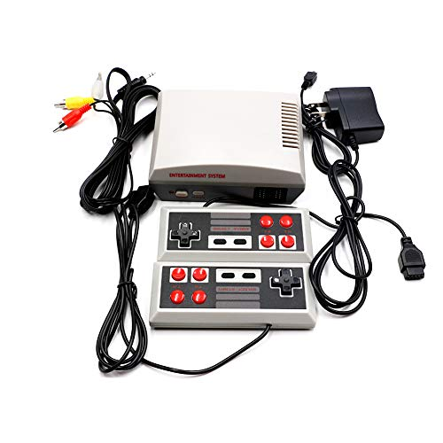 ame System Classic Edition TV Spielkonsolen Play Station Vintage Red and White Spielekonsolen 1PC US Version ()
