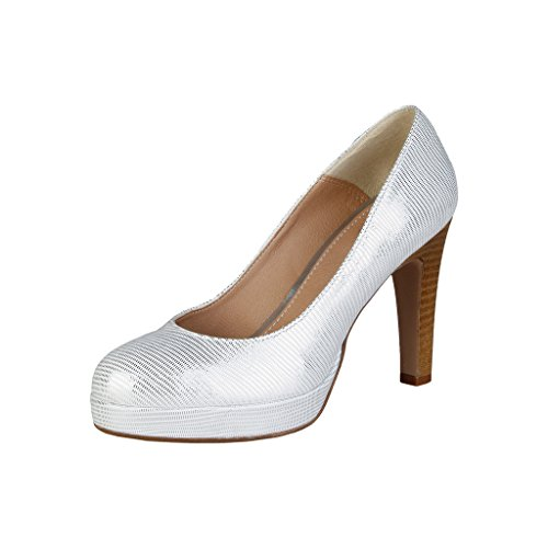 VERSACE V-1969 Women s Melodie Court Shoes Silver Silver Silver Size  ... 49862a70021