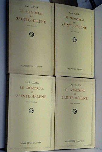 Le mémorial de sainte-hélène vol. I, II, III, IV Garnier Fréres