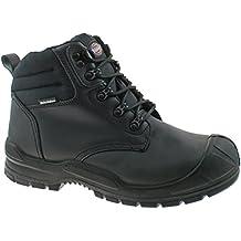 Dickies Mens Trenton transpirable piel puntera de acero botas de seguridad