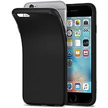 Funda iPhone 6s, SPIGEN® [Liquid Crystal] Protección Delgada y Claridad Premium para el iPhone 6s / 6 - Negro Mate