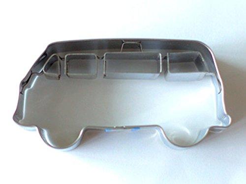 Birkmann 1010697310 Ausstechform Bulli, Kunststoff, Grau, 5 x 3 x 2 cm, 5 x 3 x 2 cm