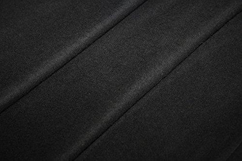 Bühnenmolton Ballen schwarz 300 cm 30 lfm