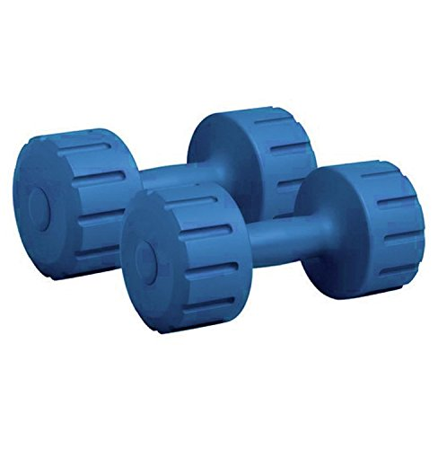Protoner Pair of 5kg Each PVC Dumbbells Set