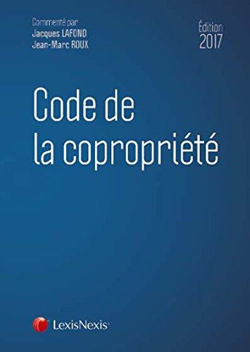 Code de la coproprit 2018