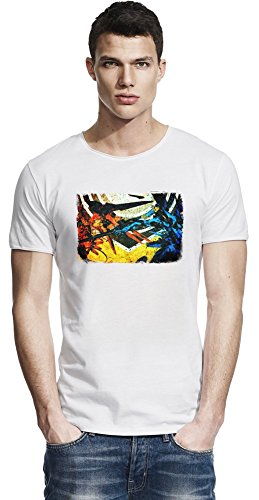 Zone Of The Enders HD Collection Colorful Raw Edge-T-Shirt X-Large (360 Zone Enders)