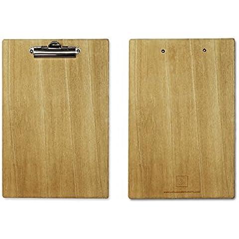 Soporte madera para hojas DIN A4