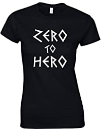 Zero To Hero, Ladies Printed T-Shirt