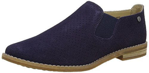 Hush Puppies Women's Analise Clever Loafers, Blue (Navy), 6 UK 39 EU