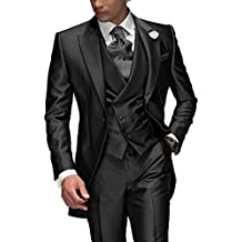 Suit Me Tailored Men Suit 3 piezas de traje de chaqueta de smoking chaqueta de la
