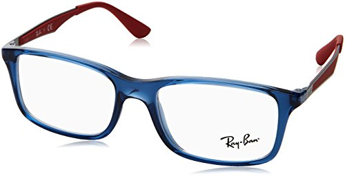 Ray-Ban Unisex-Kinder 0RY 1570 3721 49 Brillengestelle, Blau (Transparent Blue),