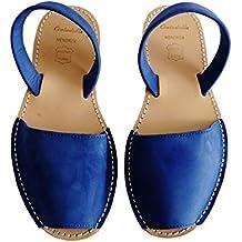 Sandali autentici di Minorca, Piattaforma / cuneo 2,5 cm, avarcas menorquínas. vari colori, pelle
