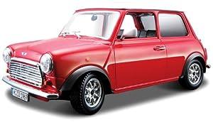 Bburago Mini Cooper (1969) rojo-18/43206, Color Rojo (18-43206)