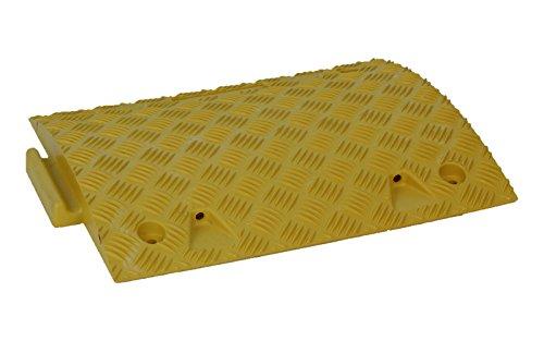 Doc Protection Fahrbahnschwelle Mittelstück, gelb, Höhe 75 mm Tempo-STOP - Fahrwerk-modul