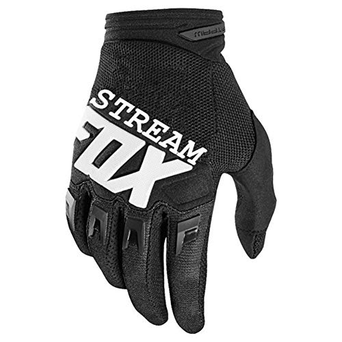 JL5588 Fox Motocross Bike Racing Guanti ATV BMX MTB off Road Moto Guanti della Bici di Montagna della Bicicletta (Color : Black, Size : L)