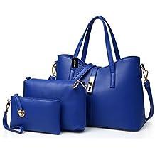 Alidear Moda Mujeres Bag Bolsos bandolera Mutil Function Bag Crossbody Bag Tote Carteras de mano Pu