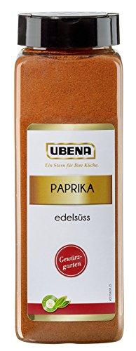 Ubena Paprika edelsüß 500 g Paprikapulver mild Gewürz-Paprika gemahlen, Paprikagewürz, zum Würzen von Fleisch, Gemüse und Soßen, Menge: 1 Stück