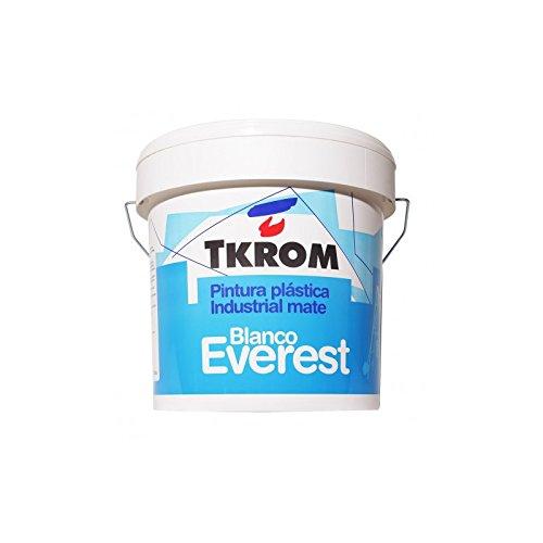 Pintura plastica Tkrom everest blanco mate 20 kg