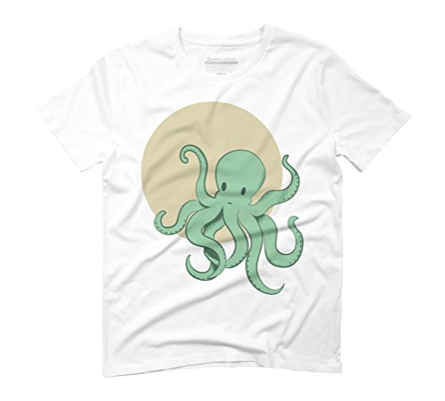Octopus Men's Graphic T-Shirt - Design By Humans White
