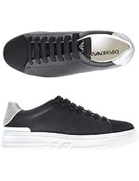 041fb7e2dbf25 Armani Jeans Scarpe Stringate Uomo Nero x4x221