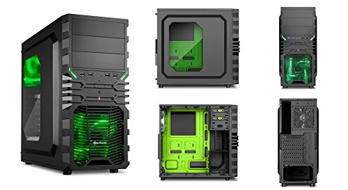 Sedatech - Gaming PC Casual AMD A8-7600 4x3.1GHz, Radeon R7 Series, 8GB RAM, 1000GB HDD, USB 3.1, 80+ Netzteil, ohne OS - Home, Office, Family, Gaming PC, PC Gamer, Multimedia, Desktop PC, Computer, Rechner