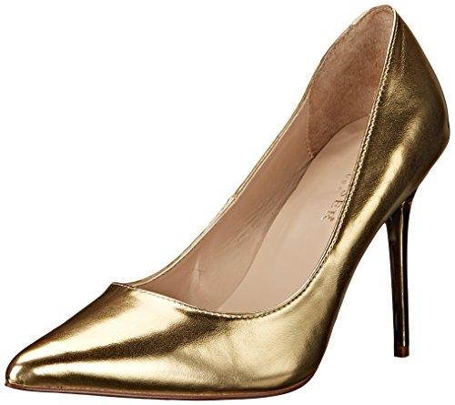 Pleaser  CLASSIQUE-20, Chaussures à talons - Avant du pieds couvert femmes Or (Gold Met Pu)