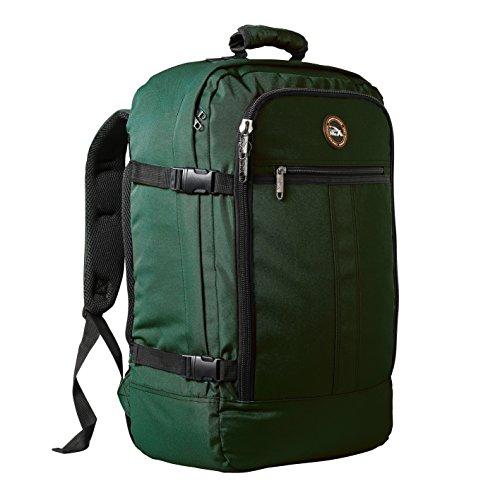 Cabin Max Metz Zainetto bagaglio a mano/da cabina, 44 litri, dimensioni approvate 55x40x20 cm su voli IATA (Cacciatore verde)