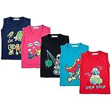 Kuchipoo Unisex Kids Vest Sleeveless Kids T-Shirt