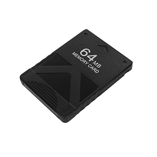 Eaxus PS2 Memory Card 64MB. Speicherkarte für PlayStation 2 Konsole & Games