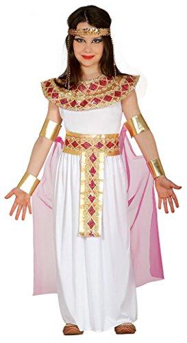 Imagen de guirca  disfraz de egipcia, talla 7 9 años, color rosa 85944