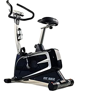 FitBike Heimtrainer Ride 6 iPlus – Smartphone/tablet App kompatibel – 16 Widerstandsniveaus mit 16 Trainingsprogrammen – 10 kg Schwungrad – Fitnessbike