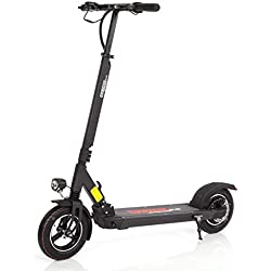 Wizzard Elektro City Scooter E Roller - Geschwindigkeit 40 km/h, Reichweite 50km (2.5, Schwarz)