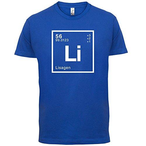Lisa Periodensystem - Herren T-Shirt - 13 Farben Royalblau