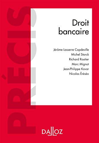 Droit bancaire (Précis)