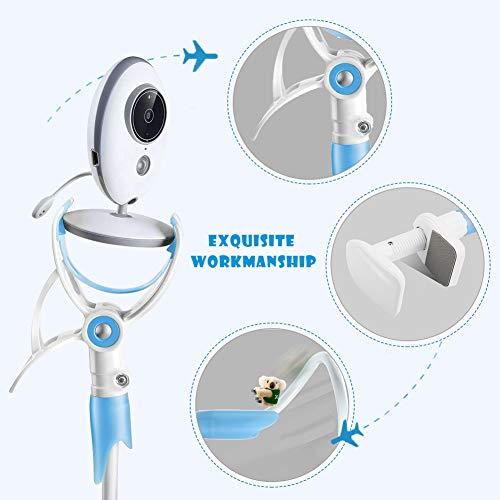 Imagen para Mallalah Soporte para cámara de video para monitor de bebé, soporte universal para monitor de bebé, soporte para teléfono móvil, estante para monitor de video infantil (verde)