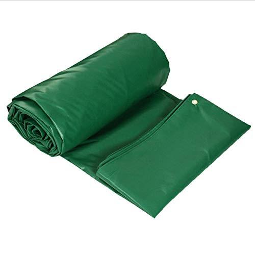 Planen Pavillon Camping Winddicht PVC-doppelseitiges Verdickungs-Regen DREI Planen-Dach-im Freienisolierung ZHML (Farbe : Green, größe : 2 * 1.5)