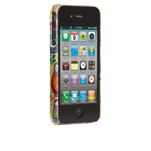 Case-Mate Jessica Swift Designer Schutzhülle für Apple iPhone 4/4S–parent ASIN Matryoshka