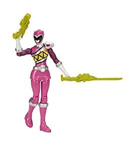 Power Rangers : Dino Charge – Ranger Rose – Figurine Articulée 12 cm