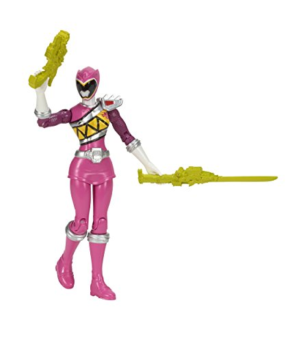 Power Rangers Dino Charge 12.5cm Pink Ranger Figur [UK (Power Rangers Requisiten)