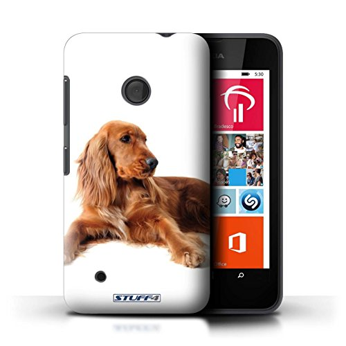 Kobalt® Imprimé Etui / Coque pour Nokia Lumia 530 / Bull Terrier conception / Série Chiens Cocker Spaniel