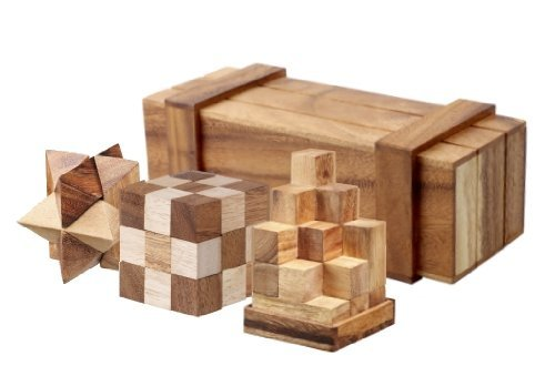 magic-box-with-3-wooden-puzzles-gift-set-open-the-trick-box-to-find-3-great-puzzles-inside