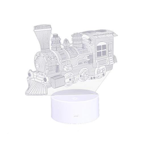 TianranRT - Lámpara LED 3D con ilusión óptica para escritorio y noche,...